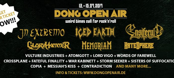 Dong open Air flyer